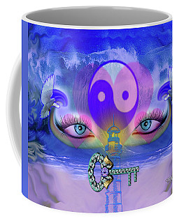 Yin Yang Key To Peace #190 Coffee Mug