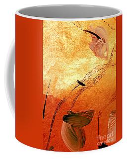 Ying And Yang Flowers Coffee Mug