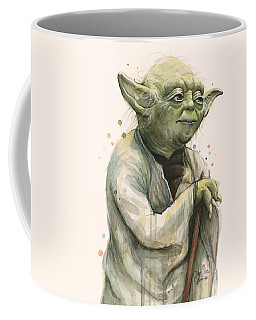 Yoda Portrait Coffee Mug