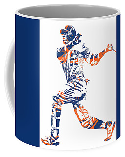 Yoenis Cespedes New York Mets Pixel Art 11 Coffee Mug