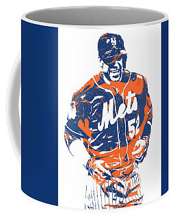 Yoenis Cespedes New York Mets Pixel Art 3 Coffee Mug