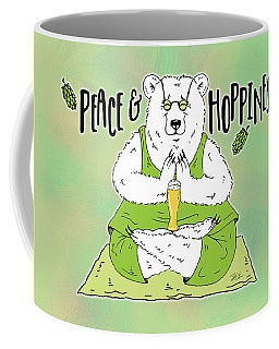 Yoga Beer Bear Coffee Mug