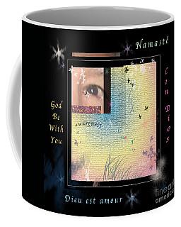 Coffee Mug featuring the photograph Yoga Creativity And Awareness by Felipe Adan Lerma
