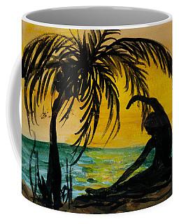 Yoga Seated Side Bend Coffee Mug
