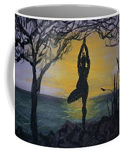 Yoga Tree Pose Coffee Mug