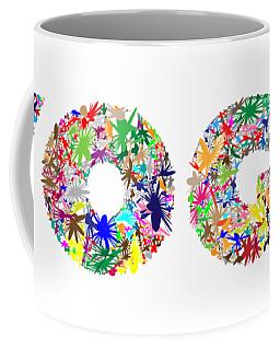 Yoga Word Art Coffee Mug