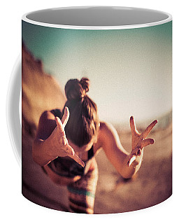 Coffee Mug featuring the photograph Yogic Gift by T Brian Jones
