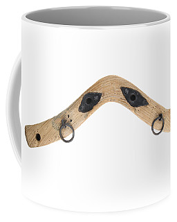 Coffee Mug featuring the photograph Yoke - Part Of Harnesses For The Draft Animals by Michal Boubin