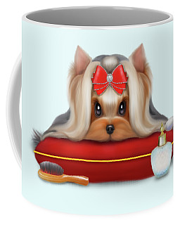 Yorkie Beauty Coffee Mug