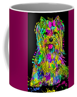 Yorkie Beauty Coffee Mug