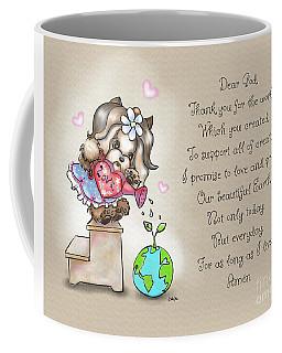 Yorkie Earth Day Prayer Coffee Mug