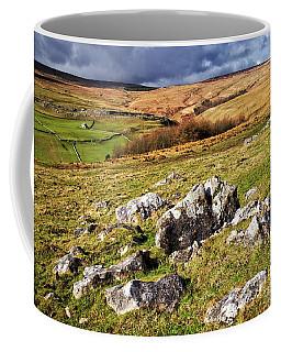 Yorkshire Dales Limestone Countryside Coffee Mug
