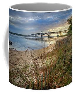 Yorktown Beach Sunrise Virginia Coffee Mug