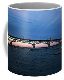 Yorktown Marina Scene Coffee Mug
