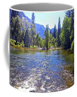 Yosemite River At Ease Coffee Mug