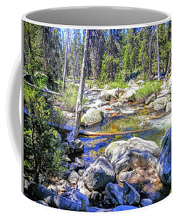 Yosemite Boulder Stream Coffee Mug