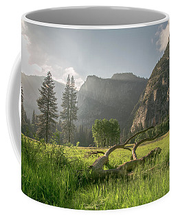 Sundown On The Valley Coffee Mug by Ryan Weddle