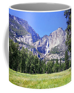 Yosemite Valley Waterfall Coffee Mug