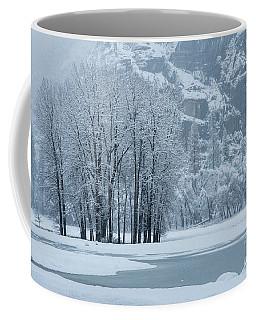 Coffee Mug featuring the photograph Yosemite - A Winter Wonderland by Sandra Bronstein