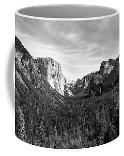 Yosemite B/w Coffee Mug