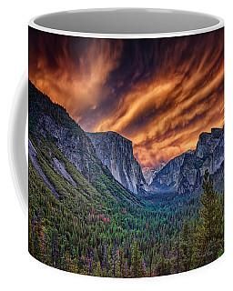 Yosemite Fire Coffee Mug