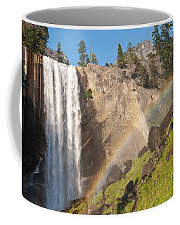 Yosemite Mist Trail Rainbow Coffee Mug