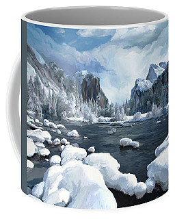 Yosemite Snow Coffee Mug