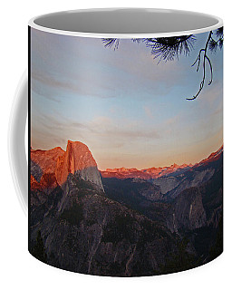 Yosemite Summer Sunset Coffee Mug by Walter Fahmy
