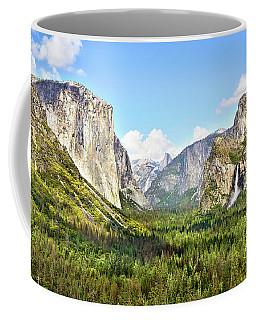 Yosemite Tunnel View Afternoon Coffee Mug