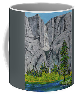 Yosemite Upper Falls Coffee Mug