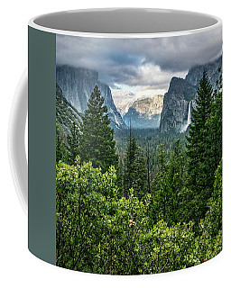 Last Light For Tunnel View Coffee Mug by Ryan Weddle