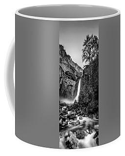 Yosemite Waterfall Bw Coffee Mug