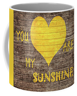 You Are My Sunshine Barn Door Coffee Mug by Dan Sproul