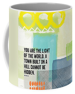 You Are The Light- Contemporary Christian Art By Linda Woods Coffee Mug