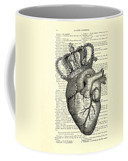 You Are The Queen Of My Heart Coffee Mug