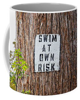 Coffee Mug featuring the photograph You Know Better ...  by Ray Shrewsberry