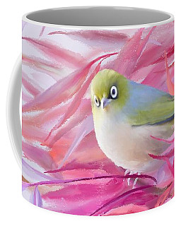 Coffee Mug featuring the painting You Looking At Me? by Ivana Westin