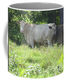 Coffee Mug featuring the photograph You Looking At Us by Aaron Martens