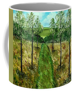 You Me And The Road Coffee Mug by Lisa Aerts