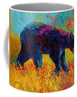 Young And Restless - Black Bear Coffee Mug