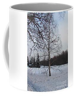 Young Birch Coffee Mug