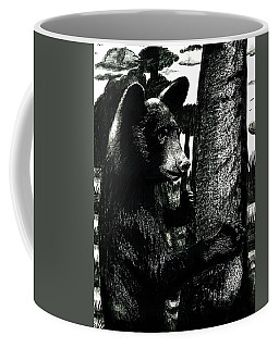 Young Black Bear In Tree  Coffee Mug