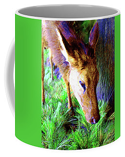 Young Elk Coffee Mug