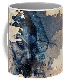 Coffee Mug featuring the mixed media Young Gifted And Black - Nina Simone  by Paul Lovering