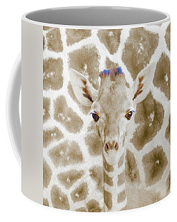 Young Giraffe Coffee Mug