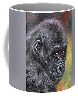 Young Gorilla Portrait Coffee Mug