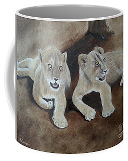 Young Lions Coffee Mug