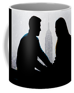 Coffee Mug featuring the photograph Young Love     by Chris Lord