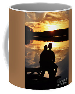Young Love And Sunsets Coffee Mug