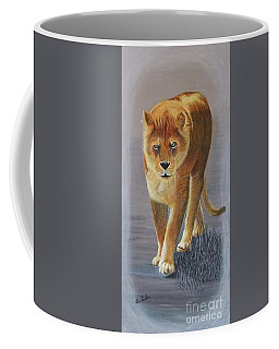 Young Male Lion Coffee Mug